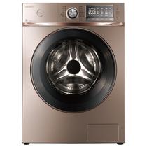 美的 MD90-1617WIDQCG 9公斤变频洗烘一体滚筒洗衣机(玫瑰金) 智能APP控制 i-smart自动投放产品图片主图