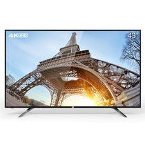 看尚 V43s 43英寸 4K智能超清窄边网络平板电视 标配底座产品图片主图