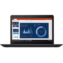 ThinkPad 轻薄系列E470c(20H3A004CD)14英寸笔记本电脑(i5-6200U 8G 500G 2G独显 Win10)黑色产品图片主图