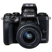 佳能 EOS M5 (EF-M 15-45mm f/3.5-6.3 IS STM) 微型单电套机 黑色 高速对焦 高速连拍