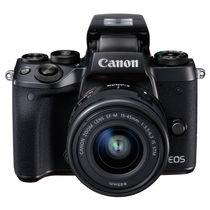 佳能 EOS M5 (EF-M 15-45mm f/3.5-6.3 IS STM) 微型单电套机 黑色 高速对焦 高速连拍产品图片主图