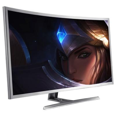 技讯(GVNXUHI) JXQ3205 31.5英寸曲面办公娱乐一体机电脑(酷睿i5-2520M 集显 4G内存 120G固态 无线键鼠 WIFI)银白色产品图片2