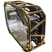 迎广 D-Frame2.0 黑金 全塔机箱(支持EATX主板/30周年限量版/自带1065W白金全模透光电源)
