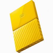 西部数据 New My Passport 2TB 2.5英寸 清新黄 移动硬盘 BYFT0020BYL-CESN