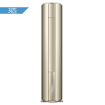 美的 3匹 二级能效 变频冷暖 空调圆柱柜机 KFR-72LW/BP2DN1Y-YB300(B2)(金色)产品图片主图