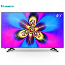 海信 LED49EC520UA 49英寸 VIDAA3 14核配置 炫彩4K智能电视(黑色)产品图片主图