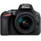 尼康  D5600 单反套机(AF-S DX 尼克尔 18-140mm f/3.5-5.6G ED VR)黑色产品图片1