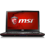 微星 GP62 6QF-1462CN 15.6英寸游戏笔记本电脑 (i7-6700HQ 8G 1T+128G固态SSD GTX960M 背光键盘) 黑