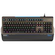 宜博 K751 六色混光机械键盘 104键 黑色 茶轴