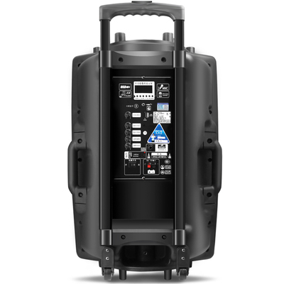 先科 A90 15寸大功率重低音广场舞音响 移动户外蓝牙拉杆音箱 便携式扩音器产品图片5