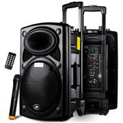 先科 天韵11号 12寸拉杆音箱广场舞音响户外 便携式插卡扩音器带无线麦克风