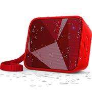 飞利浦 BT110R 无线蓝牙音箱 便携迷你音乐魔方 兼容苹果/三星手机/电脑小音响 免提通话 红色