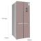 博世  BCD-452W(KMF46A66TI) 452升 变频混冷无霜 多门冰箱 零度保鲜 LCD显示(玫瑰金)产品图片2