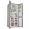 博世  BCD-452W(KMF46A66TI) 452升 变频混冷无霜 多门冰箱 零度保鲜 LCD显示(玫瑰金)产品图片3