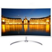飞利浦 248E8QSW 23.6英寸 曲面显示屏 纤薄设计 MVA面板 高清不闪屏 液晶曲面显示器