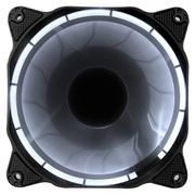 乔思伯 Eclipse日食-炫光白 12CM机箱风扇 (LED发光风扇/PWM温控/主板4PIN接口)
