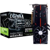 映众 GTX1080 BLACK冰龙黑金版 ICHILL 1759~1898MHz/10.4Gbps 8GB/256Bit GDDR5X PCI-E显卡产品图片主图