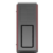 追风者 614LTG 钛灰色 全塔式机箱(支持EATX双路主板/钢化玻璃全侧透/带RGB灯饰/配3个风扇)