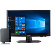 海尔 云悦mini S-J10 19英寸 迷你台式电脑(Intel四核J3160 8G 500G 核心显卡 WIFI USB3.0 Win10 )