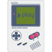 OV GAME BOY PLAY系列 240G SATA3 SSD固态硬盘 白色