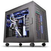 Thermaltake W200 黑色 双系统机箱 ( 双系统机箱/双系统工作站机箱个性组装方案/支持长显卡)