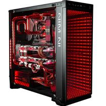 迎广 805 Infinity 中塔式机箱(支持ATX主板/ 铝合金/双面侧透/U2*2+U3*1+U3.1*1/自带RGB灯光)产品图片主图