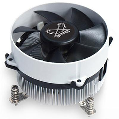 大镰刀 S950N CPU散热器(支持115X平台/下压式散热器/62mm高度/铜芯/ITX 散热器)产品图片1