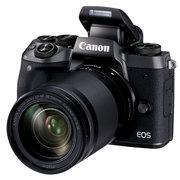 佳能 EOS M5 (EF-M 18-150mm f/3.5-6.3 IS STM) 微型单电套机 黑色 高速对焦 高速连拍
