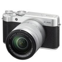富士 X-A10 (XC 16-50II) 微单电套机 经典黑 小巧轻便 微距拍摄 180度翻折屏产品图片主图
