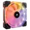 海盗船 HD120 RGB LED 单颗装 多彩灯光 高性能PWM 机箱风扇 (12CM)产品图片2