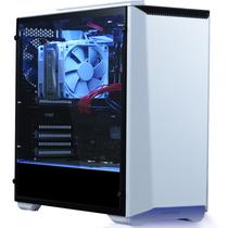 追风者 416PTG 白色 中塔式机箱(ATX钢化玻璃侧透普通版/支持280水冷//RGB呼吸灯控/2x风扇)产品图片主图