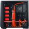 追风者 416PSTG 黑红色 中塔式机箱(ATX钢化玻璃静音版/RGB灯控/调速主动降噪/支持280水冷)产品图片2