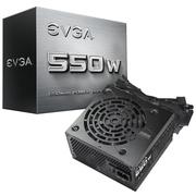 EVGA 额定550w电源 (主动式PFC/12cm静音风扇/12V稳压/完整保护机制)