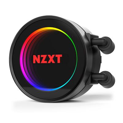 NZXT 恩杰  Kraken海妖X62 280mm一体式水冷散热器(可调色RGB水冷头/静音/耐久/散热/280mm冷排/双风扇)产品图片3