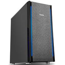 先马 塞恩7(静音版) 中塔静音电脑机箱 (拉丝面板/独立电源仓/支持ATX主板、水冷、长显卡、背线)产品图片主图