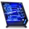 爱国者 自由之翼 银色 中塔式机箱(支持ATX主板/吸入式光驱位/铝质拉丝面板/双面加厚钢化玻璃侧板)产品图片3
