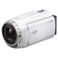 索尼 HDR-CX680 高清数码摄像机 5轴防抖 30倍光学变焦(白色)