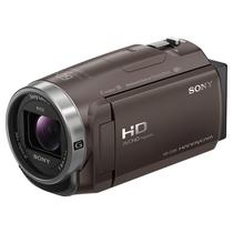 索尼 HDR-CX680 高清数码摄像机 5轴防抖 30倍光学变焦(棕色)产品图片主图