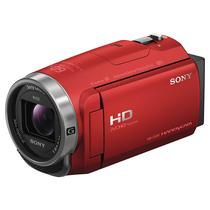 索尼 HDR-CX680 高清数码摄像机 5轴防抖 30倍光学变焦(红色)产品图片主图