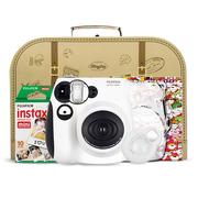 富士 mini7熊猫相机 精致手拎礼盒