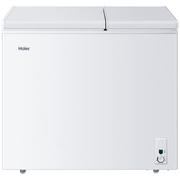 海尔 FCD-208XHT 208升 大冷冻小冷藏 双箱双温区冰柜 卧式冰箱 家用商用二合一 冷柜