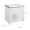 美的 BCD-158DKM(E) 158升 家用商用冰柜 大冷冻小冷藏 双温双箱区冷柜 卧式冰箱(妙趣金)产品图片2