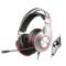 西伯利亚 K5 USB头戴式发光带麦克风电脑电竞游戏耳机 铁灰色产品图片1