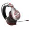 西伯利亚 K5 USB头戴式发光带麦克风电脑电竞游戏耳机 铁灰色产品图片4
