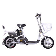 爱玛 电动自行车锂电系列 智跑-L TDT368Z 动力型 遥控报警 玻璃灰