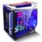 金河田 银狐 水冷游戏机箱 (ATX/钢化玻璃全侧透/双U3/支持360水排)产品图片4
