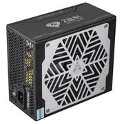 金河田 白金牌700W模组电源 (14CM静音风扇/80PLUS白金牌/主动式/智能温控/背线)