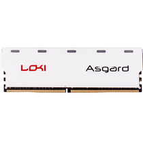 阿斯加特 洛极系列灯条 DDR4 8GB 2400频率 台式机内存 七彩闪烁产品图片主图