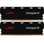 阿斯加特 洛极系列灯条 DDR4 16GB(8*2) 3000频率 台式机内存 白灯呼吸