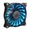 超频三 星空 机箱风扇 (12cm/RGB/小3拼+大四拼接口/6组模式/7种颜色/机箱散热风扇)产品图片2